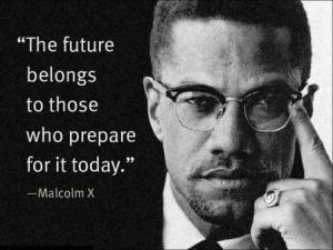 A suitable quote by Malcom X