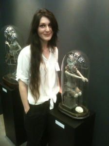Rachel Ann Stevenson with 'Loveless Bird'