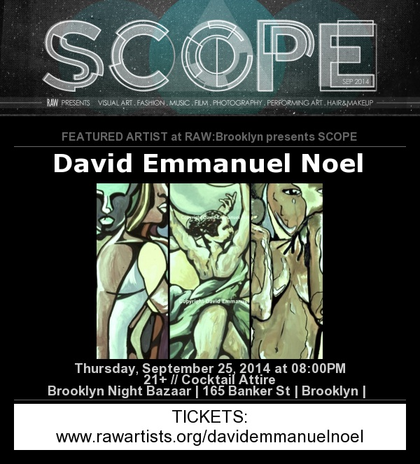 Featured artist at RAW's SCOPE