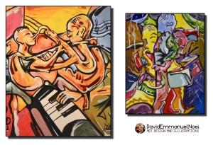David Emmanuel Noel, black art, African Art, Community Arts , Art for Sale, African American Art, Abstract Art, Illustrations, illustrator, Artists in London, Artists in New York, Art for Sale, drawings, sketches, African, Art for Sale, Commission