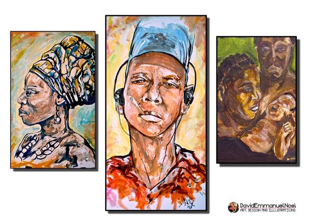 David Emmanuel Noel Art, David Emmanuel Noel Ltd, Art for sale by David Emmanuel Noel,