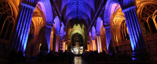 Cathedra 900 multimedia event