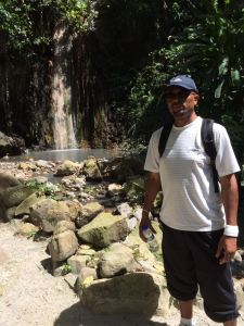 Taking time visiting Sulphur Springs, Soufriere