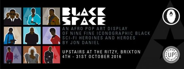 Black Space by artist artist Jon Daniel