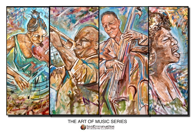 david emmanuel noel, art of music, music and art, david emmanuel noel art, music and art