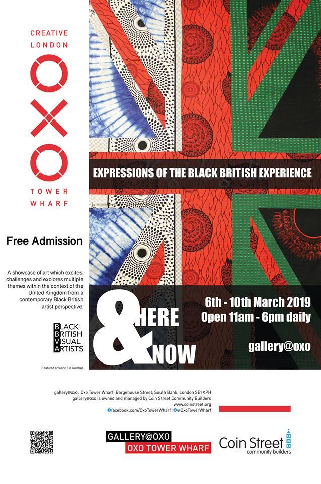 David Emmanuel Noel, Here and Now , Black British Artists, Black British Artist Group